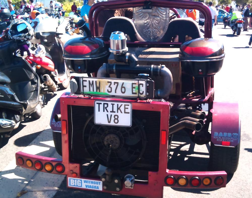 One of the best trikes at the Toy Run