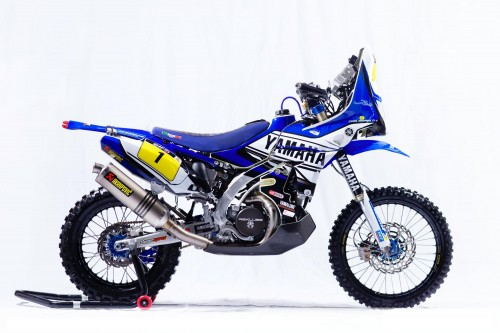 Cyril Depres's 2014 Yamaha YZ450F rally bike - www.yamaha-racing.com