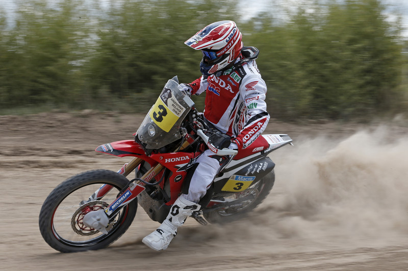 Joan Barreda Bort on his Honda - www.hondaproracing.com